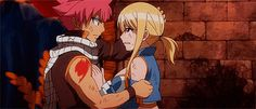 Anime Hug: Fairy Tail - Natsu and Lucy Hug  Top Best Anime Hugs of All Time  we Picked some great Anime Couple hugging scenes, Anime Friendship Hugging are here too, but undoubtedly the most amazing hugs in Anime are those Pretty Hugs from behind. so let's say that you will learn How to Hug Romantically!!  #anime #hugs #romance #japan