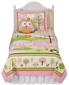 Love and Nature collection from Target - adorable, plus affordable, plus goes with some of the stuff already in her room