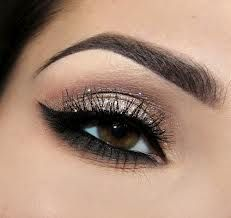 So pretty for brown eyes (:  love the under eye emphasis