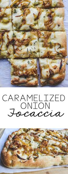 A simple to make homemade focaccia recipe that is vegan. The caramelized onion a… A simple to make homemade focaccia recipe that is vegan. The caramelized onion and focaccia topping make this bread beyond delicious. Focaccia Bread Recipe, Homemade Focaccia Bread, Homemade Breads, Focaccia Pizza, Vegetarian Recipes, Cooking Recipes, Scd Recipes, Bread Recipes, Sandwich Recipes