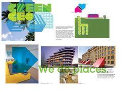 Lake Shore Brochure by John Owens, via Behance