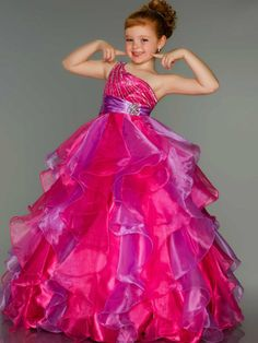 Child princess dress flower girl formal dress wedding dress european version of the long princess dress k-81 design $94.12