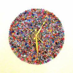 Custom Handmade Paper Bead Clock by Shannybeebo | Hatch.co