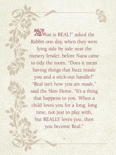 the velveteen rabbit story pdf