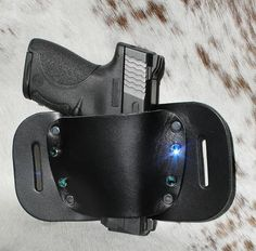 """The Bagheera"" Holsters for Women by Concealed Carry Wear www.wearccw.com feature genuine Swarovski crystals"