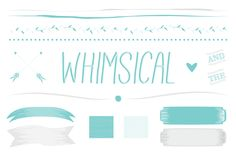 Whimsical Vector Art by The Fanciful on Creative Market