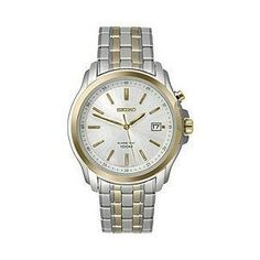 Seiko Men's SKA490P1 Silver Dial Watch Seiko. $126.20. Kinetic quartz movement. Water-resistant to 100 M (330 feet). Case material: stainless steel. Case diameter : 40 mm. Hardlex crystal