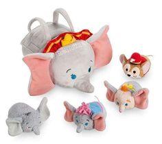 New Tsum Tsum Dumbo Plush Bag Set Will Release in October