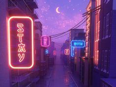 Driving away loop animation cgi design gif illistration illustration typografie Cyberpunk Aesthetic, Aesthetic Images, Purple Aesthetic, Retro Aesthetic, Aesthetic Backgrounds, Aesthetic Anime, Aesthetic Wallpapers, Aesthetic Dark, Aesthetic Bedroom