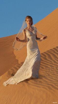 bhldn summer 2016 sleeveless vneck sheath lace wedding dress (petra) mv