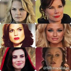 Has anyone else noticed that almost all of the One Upon a Time actresses have square faces? If that all you need, Ive got the job