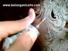 How to carve buffalo skull