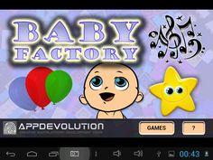 La Fabbrica Dei Bimbi è un App che contiene diversi semplici giochi didattici adatti ai bambini dai 2 anni in su, che aiutano a stimolare tatto,udito e vista.