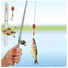 Pen Fishing Rod  http://www.treathim.com/product/pen_fishing_rod