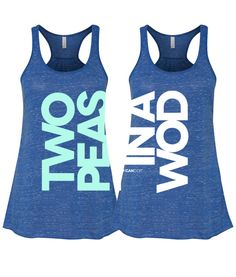 Two Peas in a WOD – PAIR OF TANKS