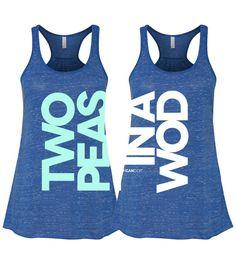 Two Peas in a WOD – PAIR OF TANKS *PRE-ORDER*