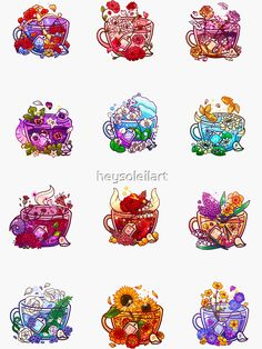 Kawaii Doodles, Cute Doodles, Kawaii Art, Cute Food Drawings, Cute Animal Drawings Kawaii, Stickers Kawaii, Cute Stickers, Cute Food Art, Cute Art
