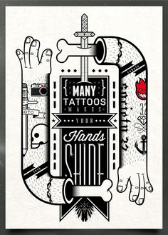 Many Tattos will Make your hands shine  (via REMIND ORIGINS on the Behance Network)