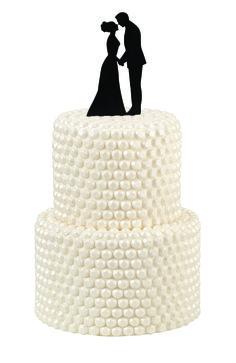 Silhouette Couple Cake Pick TopperSilhouette Couple Cake Pick Topper,