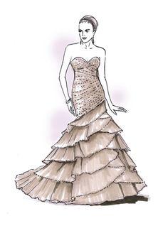 Wedding dress idea www.binzario.com