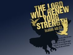 Renew Your Strength Free Christian Wallpaper