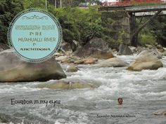 Ecuador Joannan silmin - Ecuador in my eyes: Swimming hole in the Misahualli river in Archidona