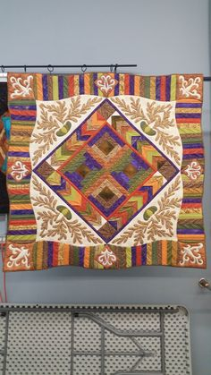 Rhapsody quilt, The Last Goodbye The Last Goodbye, Cat Quilt, Log Cabin Quilts, Longarm Quilting, My Father, Quilting Designs, Textile Art, Textiles, Crafty