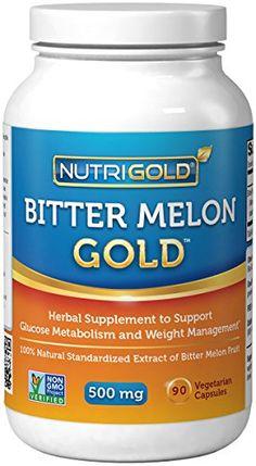 Nutrigold Bitter Melon Gold, 500 mg, 90 veg. capsules Nutrigold http://www.amazon.com/dp/B004AQ1ZKY/ref=cm_sw_r_pi_dp_sMXHub1X9GX8C