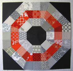 modern quilt blocks   ... way to finish off the Week of Blocks than with a new block tutorial