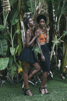 Twin models @tashandcody | Photog : molly adams | styling: tash and cody