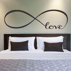 Bedroom Wall Stickers Decor Infinity Symbol Art Great Gift Idea