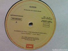 Discos de vinilo: Hammer to fall Queen Maxi. Rareza. - Foto 2 - 96131464