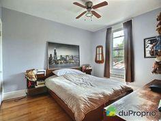 Chambre 2 -  La seconde chambre donne sur la cour - Triplex à vendre à Montréal dans le quartier Rosemont, contactez Emmanuelle au 451-751-1551, $579,000