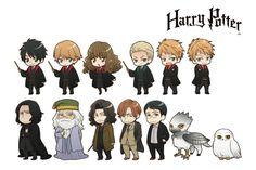 Los personajes de Harry Potter se pasan al anime de forma oficial