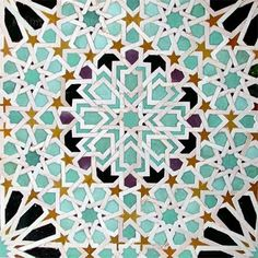 moroccan wall tiles are called zellige - Modern Moroccan Wall Tiles, Moroccan Bathroom, Moroccan Art, Moroccan Design, Moroccan Interiors, Moroccan Tile Backsplash, Moroccan Theme, Backsplash Ideas, Backsplash Arabesque