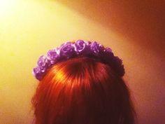 Sweetie Pie Lilac Flower Crown
