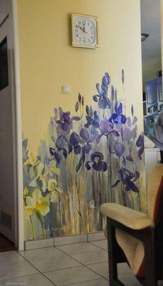 Wall Paper Bedroom Vintage Wall Murals 36 Ideas For 2019 Mural Art, Wall Art, Painted Wall Murals, Diy Wall, Hand Painted Walls, Deco Floral, Vintage Floral, Vintage Art, Vintage Decor