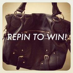 THIS IS THE LAST HOUR TO WIN! 10 REPINS! ONE WINNER!!!