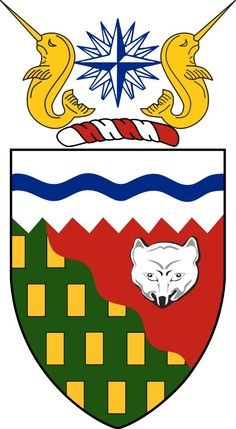 Internet Store of Worldwide Souvenirs - Acrylic Fridge Magnet: Canada. Coat of Arms of Northwest Territories O Canada, Canada Travel, Culture Day, Government Of Canada, Northwest Territories, Canadian History, Cool Countries, National Flag, Coat Of Arms