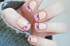 @Odette Plavinskas Plavinskas Swan Odette Swan Blog   Beauty is Everywhere: 100 My little bow - nail art tutorial (Video) + announcement
