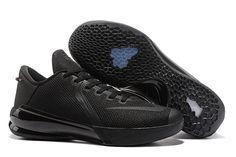 b1ee28973b33 Nike Zoom Kobe Venomenon 6 Triple Black Men Basketball Shoes