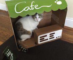 Neko Atsume cardboard box, DIY vid for this, anyone?