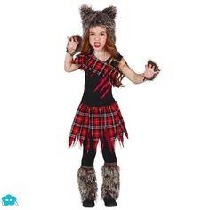 disfraz de lobo escocs para nia