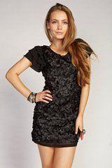 Denise Detailed Dress (Flower) TOO CUTE