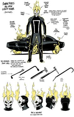 Under The Hood Of The ALL-NEW GHOST RIDER Character Design   Newsarama.com
