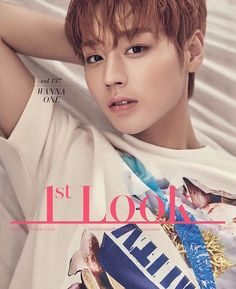 Park Jihoon (Wanna One) - Look Magazine vol. K Pop, Cho Chang, Look Magazine, Produce 101 Season 2, Thing 1, Kim Jaehwan, Ha Sungwoon, Ji Sung, Kim Woo Bin