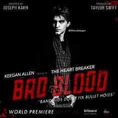 Keegan Allen Bad Blood