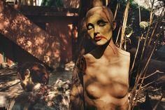 Alex Webb MEXICO. Mexico City. 1990. Mannequin in Chapultapec Park.