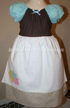 Cinderella dress up play clothes by Theresafeller Princess Dress Patterns, Princess Dress Up, Disney Princess Dresses, Princess Outfits, Disney Dress Up, Disney Outfits, Kids Outfits, Baby Dress Clothes, Sewing Kids Clothes