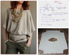 Stylish Blouse DIY | Hot DIY Blouse Design by DIY Ready at  diyready.com/diy-clothes-sewing-blouses-tutorial/